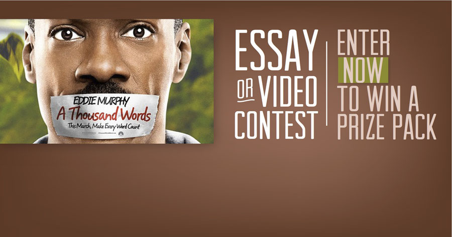 a thousand words essay In this essay i am going to talk about the business and business ethics about a movie called a thousand words.