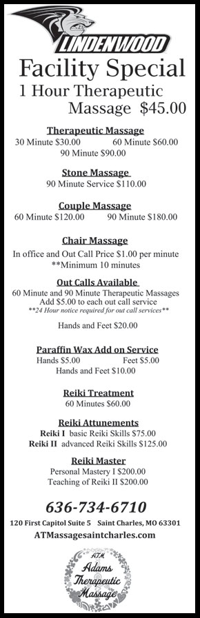 Lindenwood Massage