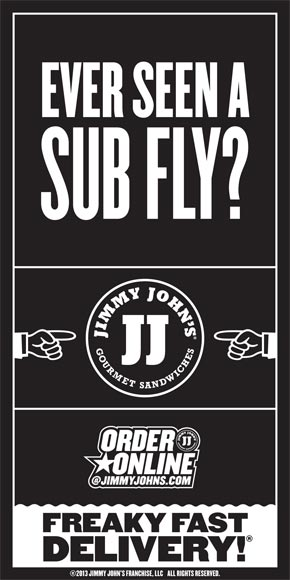 Jimmy Johns Fly Sub
