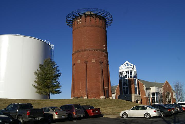 The Old Water Tower at Lindenwood