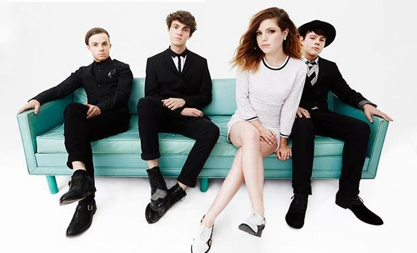 Photo from Facebook Jamie, Noah, Sydney and Graham Sierota of Echosmith.