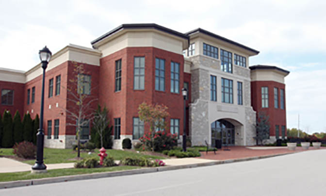 Photo from lindenwood.edu Lindenwood's Nursing Health Sciences Center in Dardenne Prairie