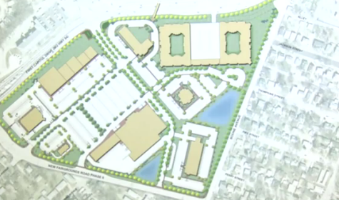 Plans for New Lindenwood Town Center