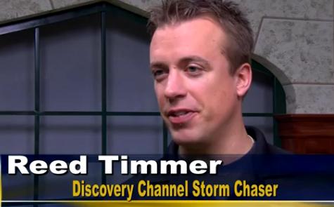 Reed Timmer Speaks at Lindenwood