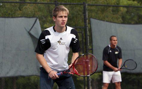 Tennis Struggles Early Against Div. II Foes