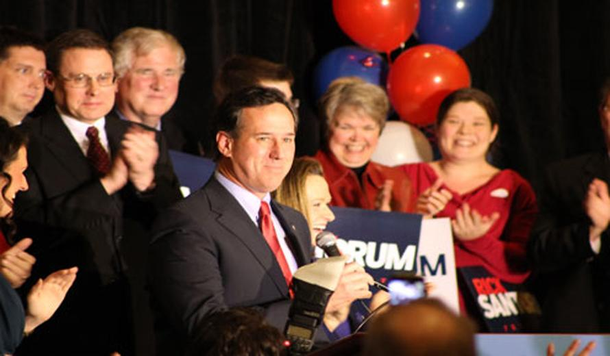 Santorum+victory