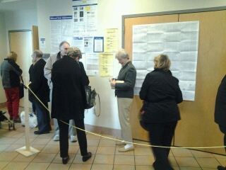 Photo Andrew Ebers Voting in Clayton.