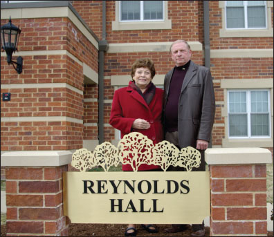 Recently named Reynolds Hall has old ties with LU