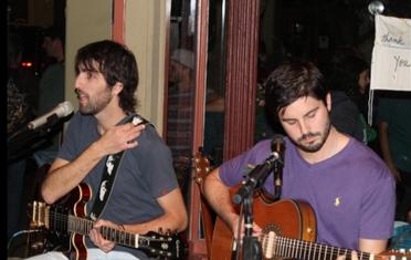 Lindenwood students 'Matias & Matias' perform @ Picasso's Coffee House