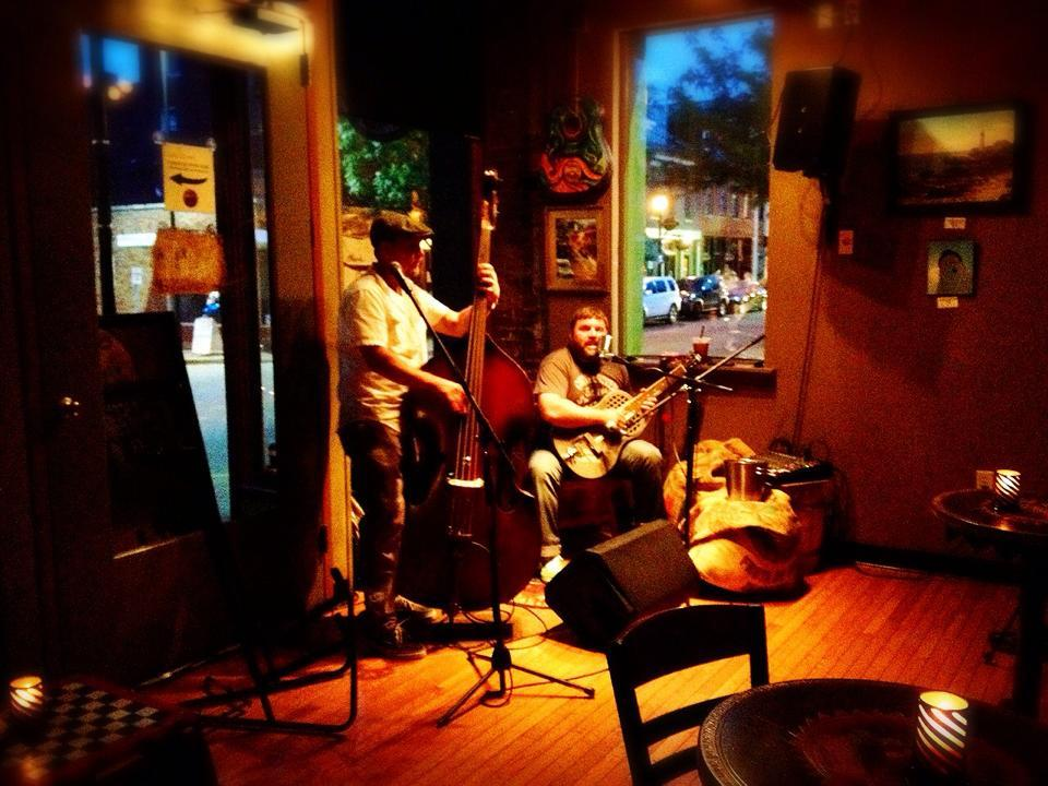 Fat City Heat performs during Open Mic.