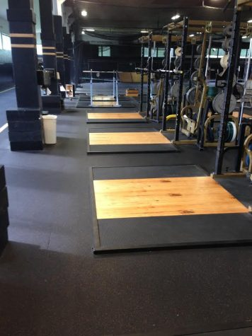 New improvements to the fitness center. Photo by Chase Stewart