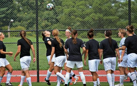 File photo by Isis Kay Wadleigh. Lions Women Soccer Team during a practice.