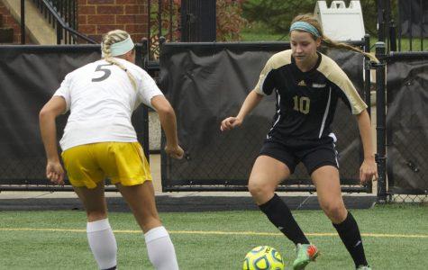 Women's soccer falls in OT loss