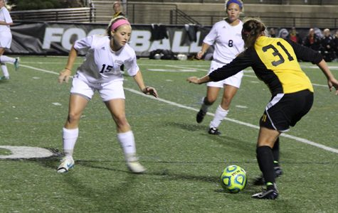 Women's soccer shut out at home