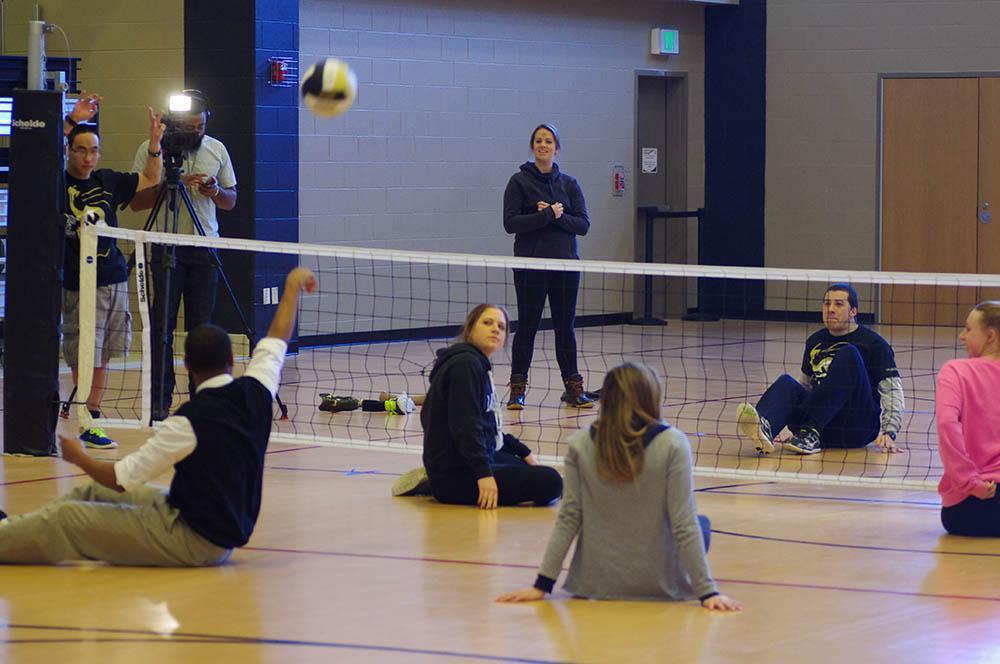 Adaptive Sports: Sit Volleyball Tournament | Photo by Sabine Neveu