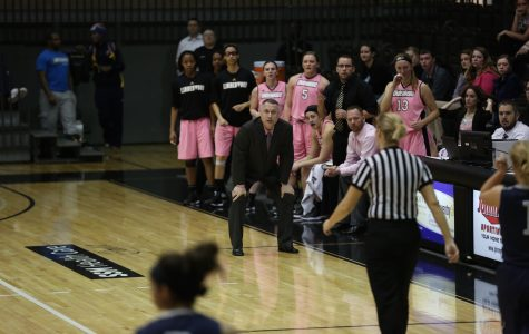 Women's basketball drops third straight game