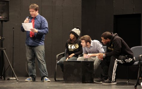 Phi Mu Alpha hosts music-themed game show for Sibley Day