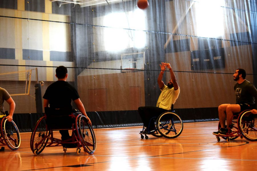 Photo+by+Isis+Wadleigh%0AAdaptive+Sports+students+offered+opportunities+to+learn+sports+like+wheelchair+basketball.