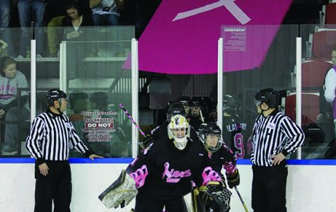 "Women's hockey to host ""Pink the Rink"" game"