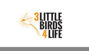 Image from 3littlebirds4life.org The non-profit organization aims to raise awareness and money for cancer research, as well as improving lives of cancer patients.
