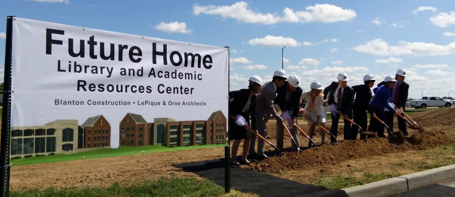 LU breaks ground for new Library and Resource Center