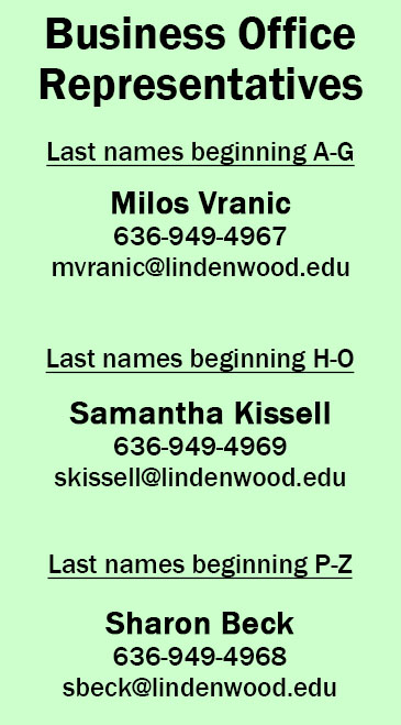 2015-2016 Business Office Account Representatives