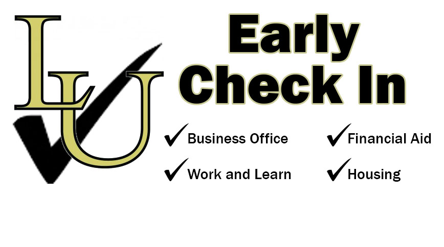 July is Early Check In month at Lindenwood