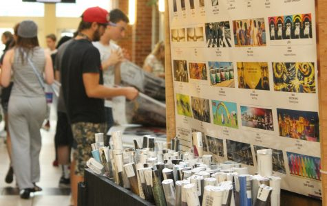 Beyond the Wall holds poster sale in Evans Commons