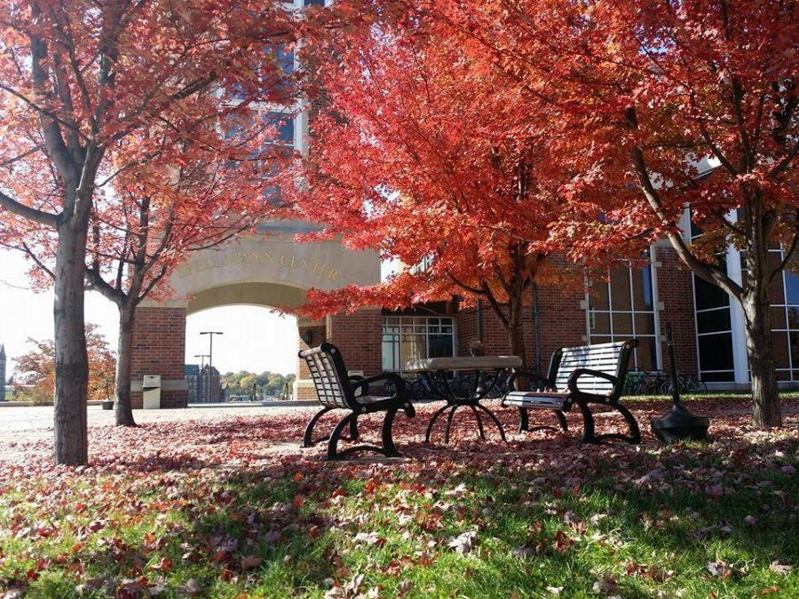 Photo by Christie Sielfleisch A beautiful fall day at LU