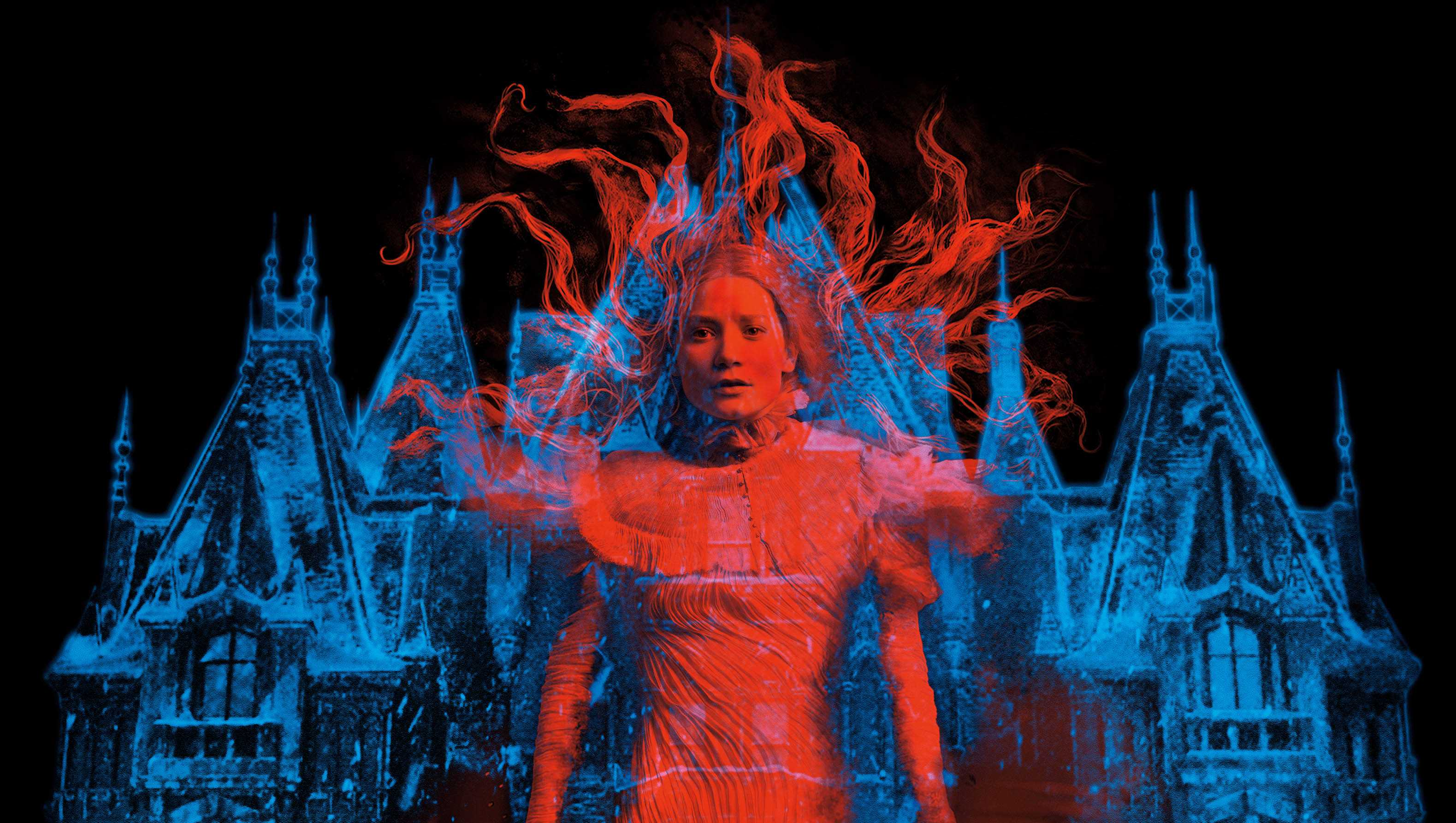 Photo from epk.tv Mia Wasikowska in a promo for Guillermo del Toro's gothic romance mystery,