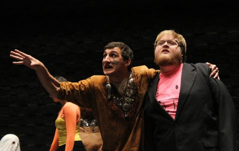 Nick of Time Players dress up for Halloween-themed improv show