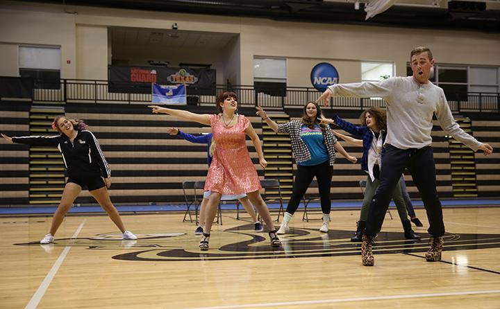 The Gay Straight Alliance's also participated in the  2015 Lip Sync Contest.