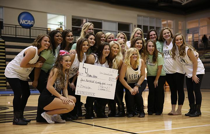 Delta Zeta finished won the contest for a second consecutive year.