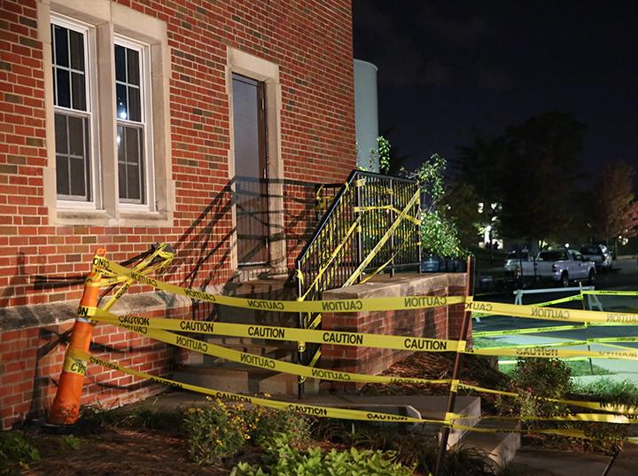 As part of Lindenwood's annual Dark Carnival, Cobbs and Irwin halls will be converted from dormitories to haunted houses for the night.  File photo by Carly Fristoe.