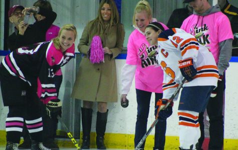 Pink the Rink benefit hockey game sets attendance record