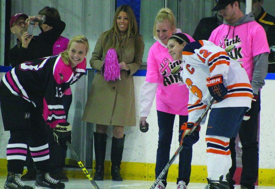 Pink+the+Rink+benefit+hockey+game+sets+attendance+record
