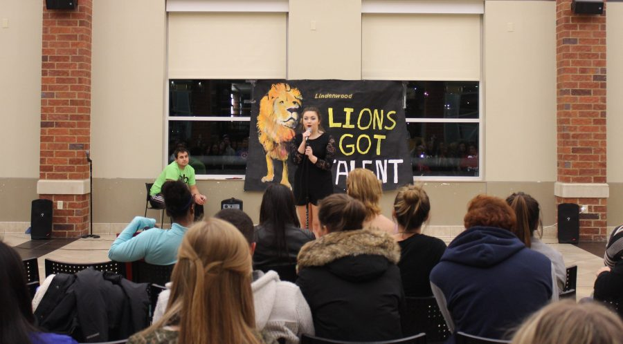 Photo provided by Nikki Cornwell Greta Perez had the honor of Lions Got Talent's inaugural performance singing Adele's