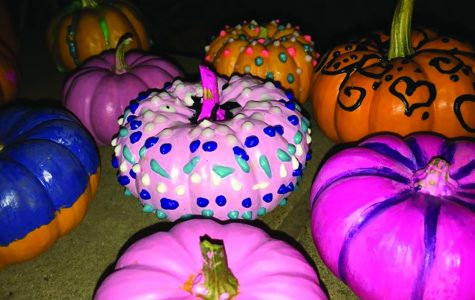 Pumpkin painting attracts colorful crowd at carnival