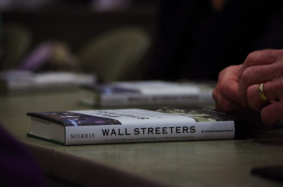 Financial professor pens book about Wall Street