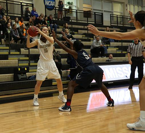 Women's basketball handed first conference loss