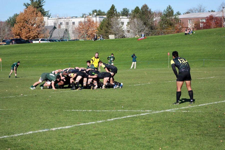Lindenwood Scrum against Dartmouth University