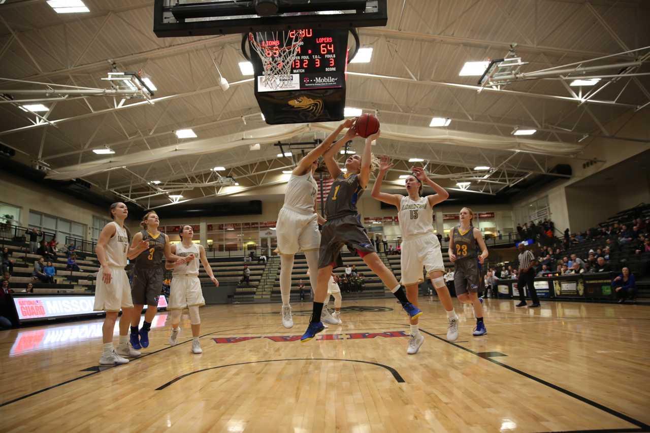 Women's basketball falls to Nebraska-Kearney as late rally