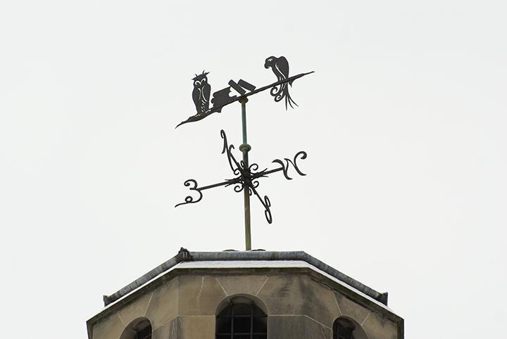 Lindenwood weathervane