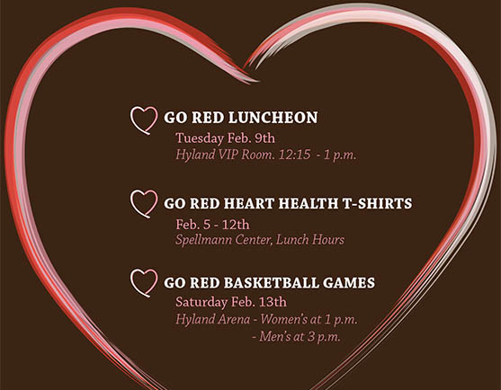 LU goes 'heart healthy' for Go Red Week