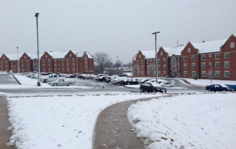 Winter storm sweeps through Lindenwood campus