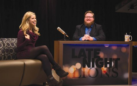 LU gets funnier after hours with new talk show