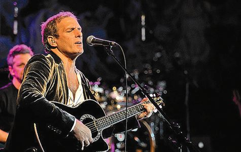 Photo courtesy of Alterna2 Popular, award-winning recording artist Michael Bolton, pictured here on guitar, performed at LU Thursday, Feb.11.