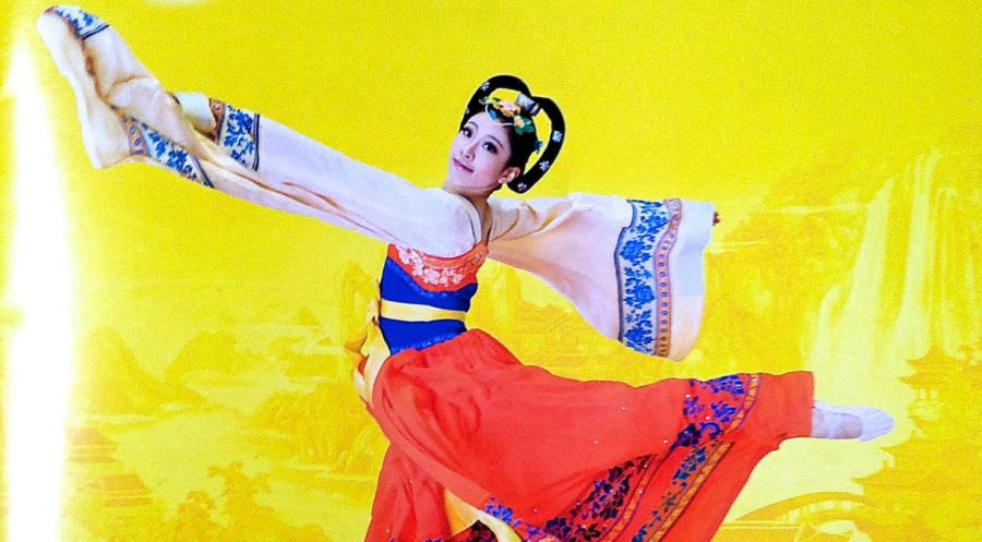 Photo by Nicola Muscroft An image from the program booklet of Shen Yun