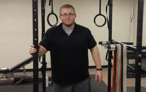 Photo by Brendan Ochs Ron Heator is a competitive power lifter teaching at LU