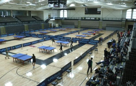 Table Tennis meet at Lindenwood University Photo Credit: Emily Miller